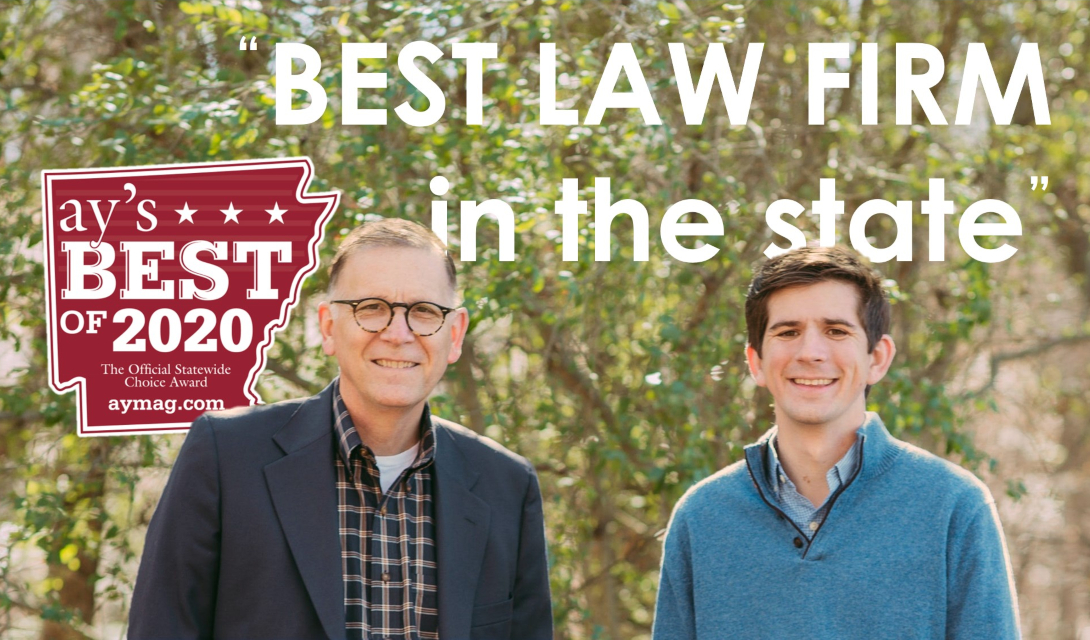 Taylor King Law Voted Arkansas's #1 Law Firm